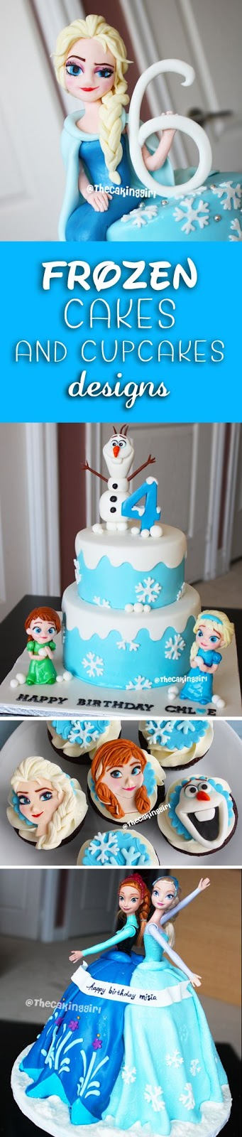 best disney frozen cakes designs tutorial