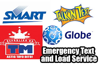 emergency text and load service