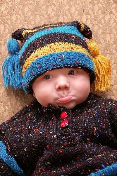 Photo bébé drôle