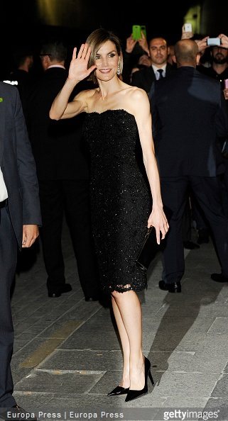 Queen Letizia of Spain attends 'Woman Awards' at Casino de Madrid on April 20, 2015 in Madrid, Spain.