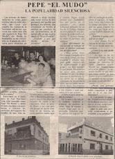 Recortes de Periodico y galardón de Mairenero