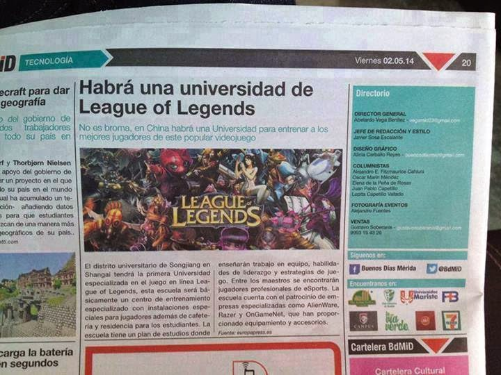 Universidad de League of Legends