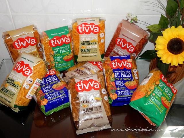 Recebidos: Massas Tivva Alimentos