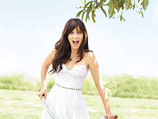 Zooey Deschanel HD Wallpaper 2012