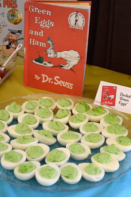 Bookworm Reading Birthday Party Snacks