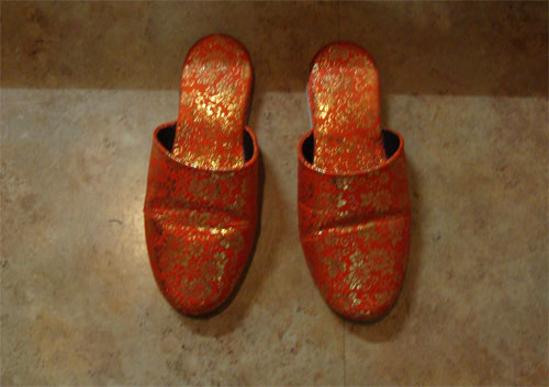 Japanese slippers