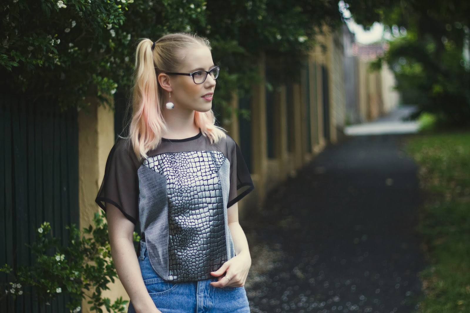 outsideiscolours, outside is colours, Pip O'Sullivan, fashion blog, brisbane fashion blog, blogger wearing garth cook, blogger in robo croc top,