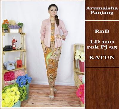 Baju Batik Gamis (Muslim) Arumaisha Dbg-690