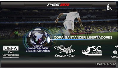 Download PES 2012 Apk v1.0.5