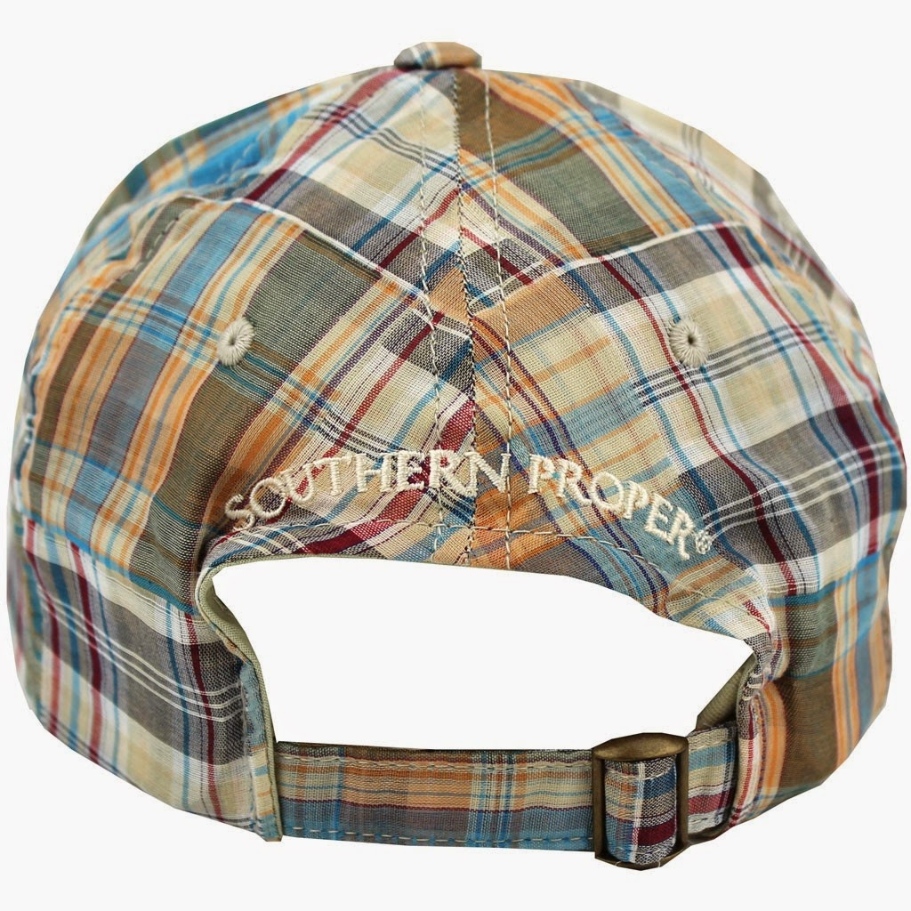 Southern Proper Frat Hat in Patchwork Plaid