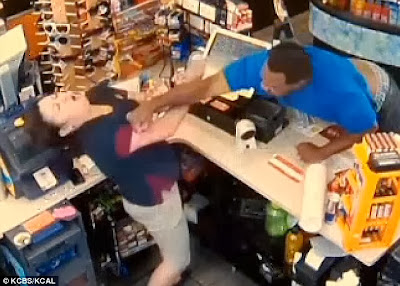 Man Punches Store Cashier In The Face Over Cigar