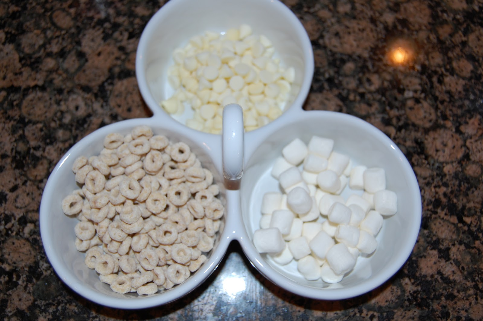 Winter White Snack Mix From The Land Of Pleasant Living Up I Love Using My Little Dish Crate And Barrel For Snacks Like This It Makes Clean So Easy Guy Also An Appearance On Taco Night