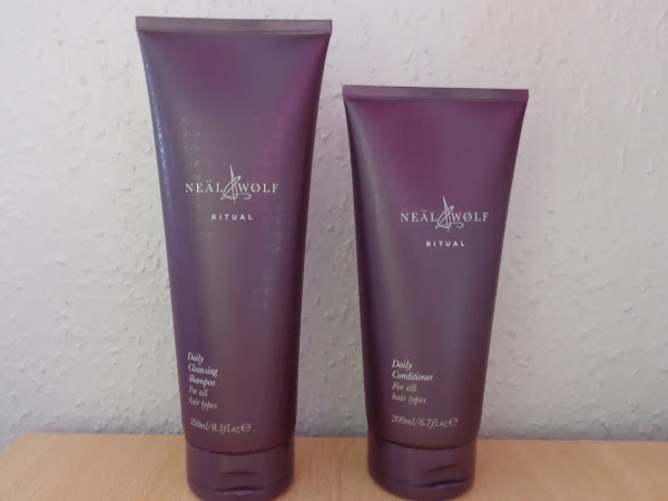 Neal & Wolf Rituals Shampoo and Conditioner Review