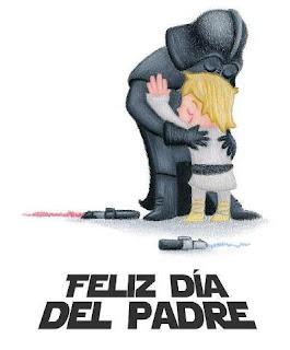 dibujo de guerra de las galaxias dia del padre