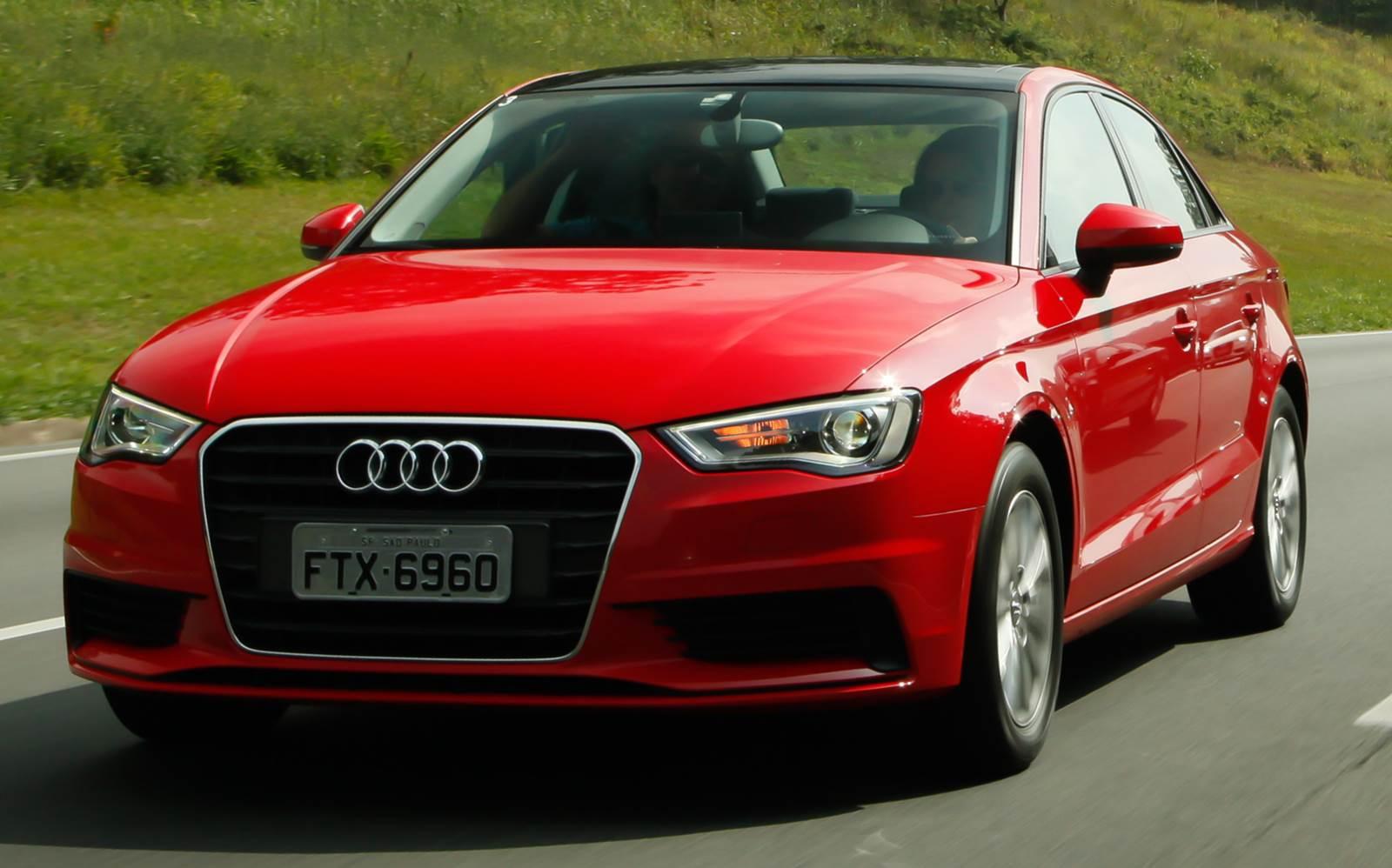 Audi A3 Sedã 2016 adota motor 1.4 TSI Flex e câmbio TipTronic