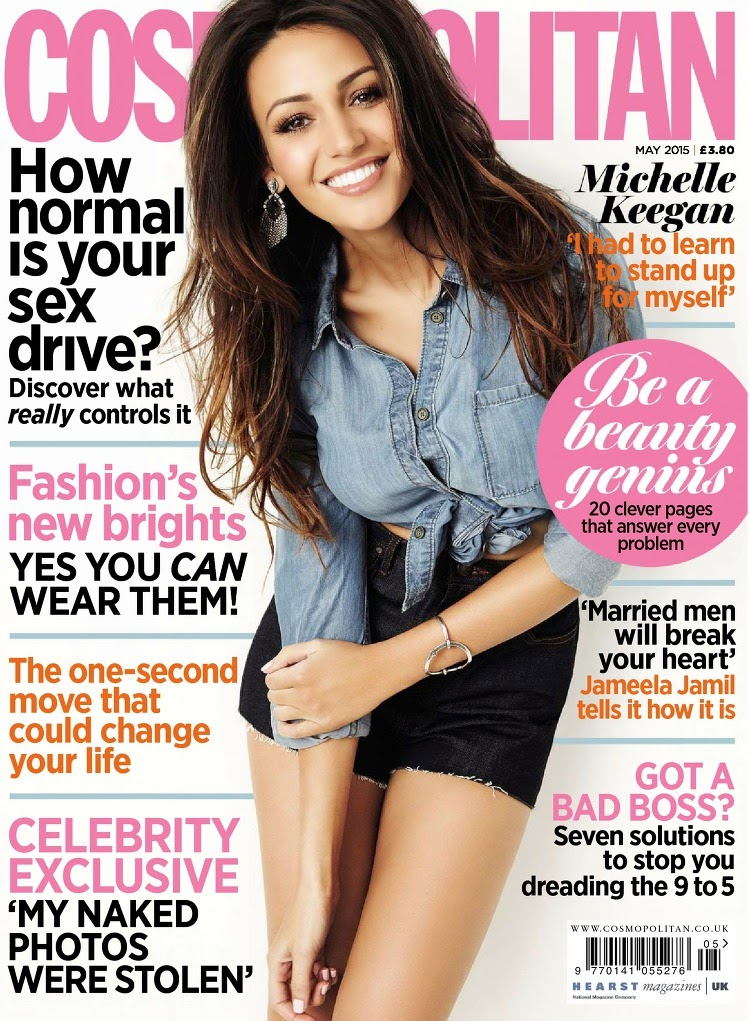 Actress, Model @ Michelle Keegan - Cosmopolitan UK, May 2015