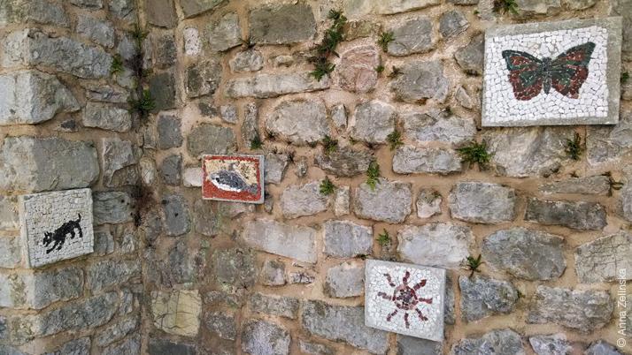 Работы учеников школы мозаики, Старый Бар