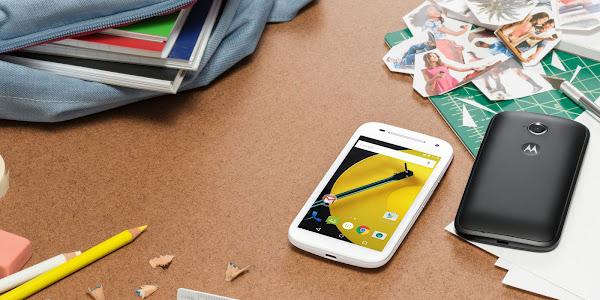 New Motorola Moto E announced