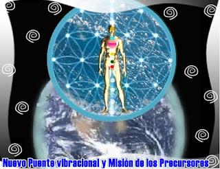 Ustedes son los Mostradores del Camino y los Nuevos Precursores de su ADN ancestral y genético para la creación del Puente vibracional para la nueva especie humana.
