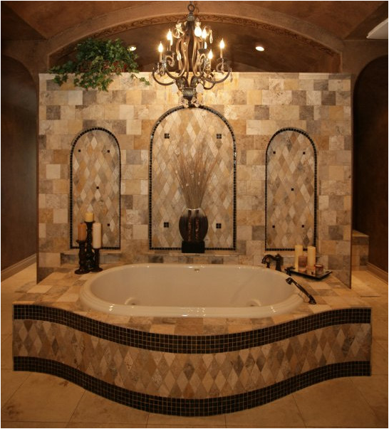 Bathroom plans for dummies joy studio design gallery Tuscan style bathroom ideas