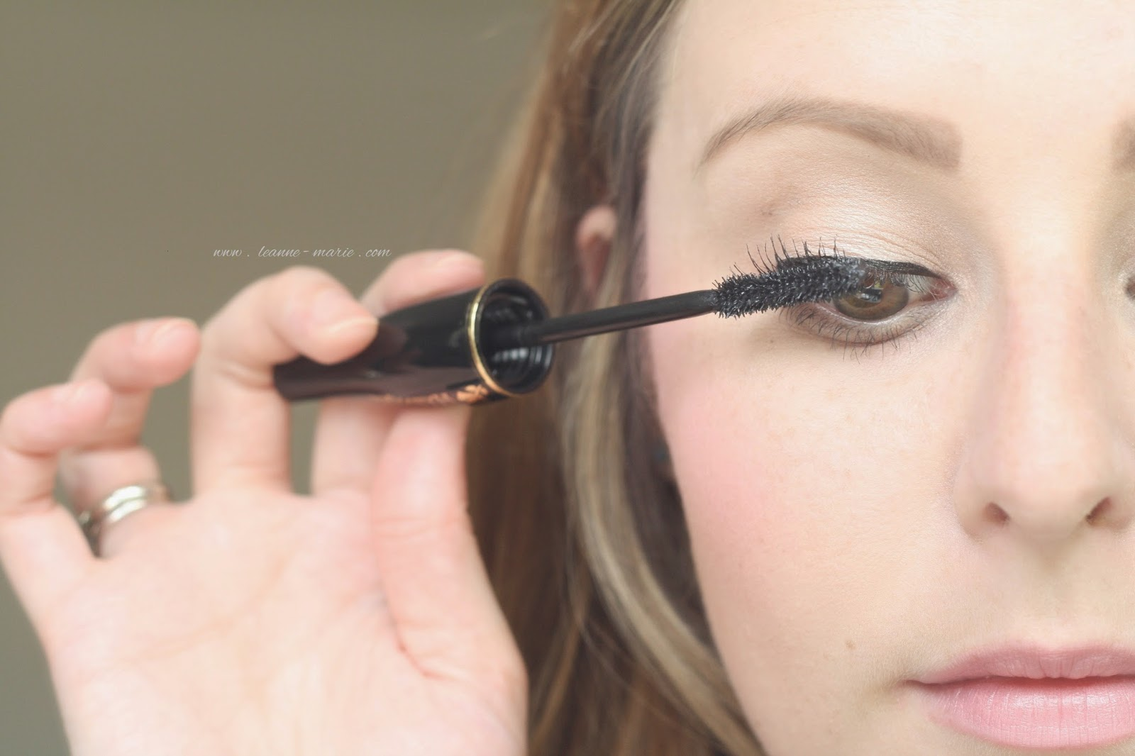 Applying-mascara-Lancome-Hypnose-Beauty-Blog