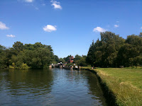 Abingdon Lock ~ zoomed
