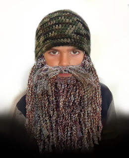 Duck Dynasty Beard and Hat Crochet Pattern Free