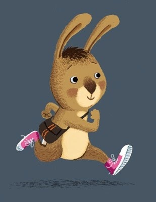 running bunny illustration by Benji Davies