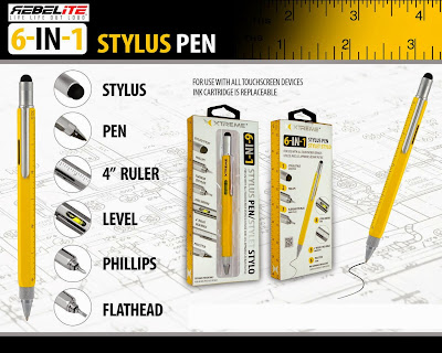 6-IN-1 Stylus Pen for use with All Touchscreen Dev #StylusPen