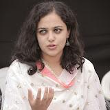 Nitya meenon Latest Photo Gallery in Salwar Kameez at New Movie Opening 36