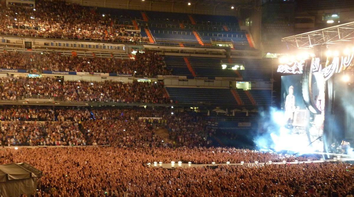 Sus Majestades los Rolling Stones (Estadio Santiago Bernabeu, 25-6-14)