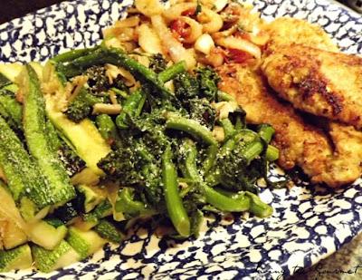 Sautéed Chicken with Veggies