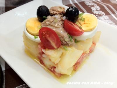 Cocina con ana ensaladilla de verano - Ana cocina facil ...