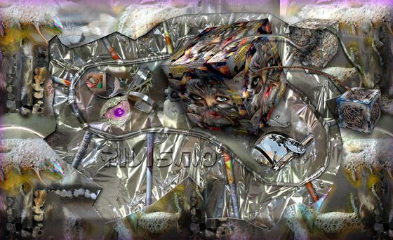 La Relatividad en los conceptos del Rivismo. Arte N-Dimensional de Ramón Rivas. Vídeo Einstiano