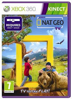 Kinect Nat Geo TV