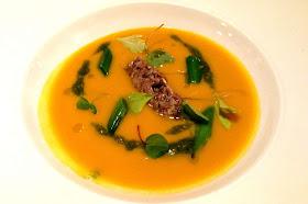 Stitch and Bear - Bang Restaurant - Butternut squash soup