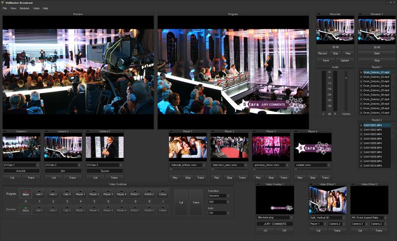تحميل برنامج تعديل وتقطيع الفيديو والصوت VidBlaster