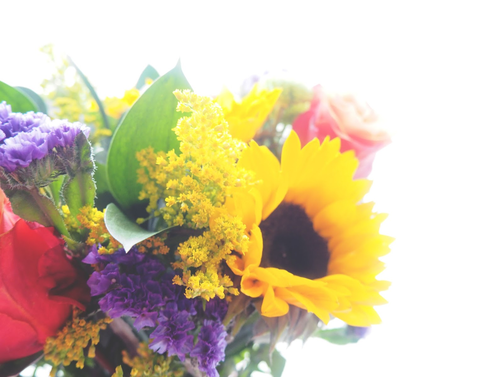 Debenhams Flowers Autumn Sun Bouquet Review and Discount Code