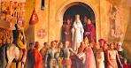 Coronación de su Majestad la Reina Isabel de Castilla y Aragón.