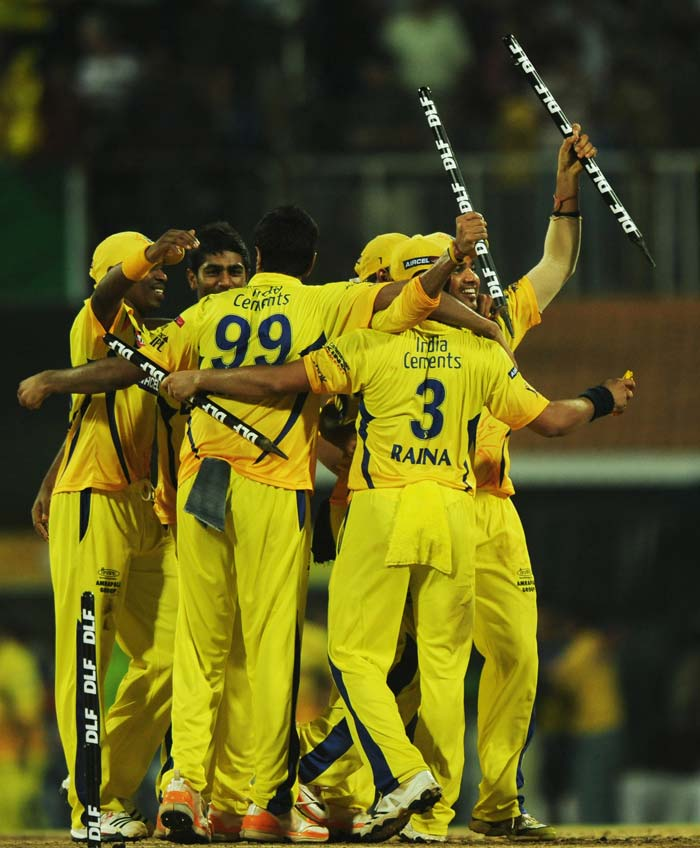 Chennai won the match