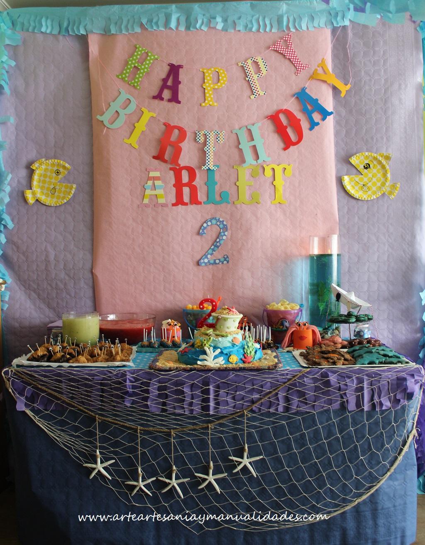 Arte artesania y manualidades fiesta infantil tem tica for Manualidades decoracion infantil