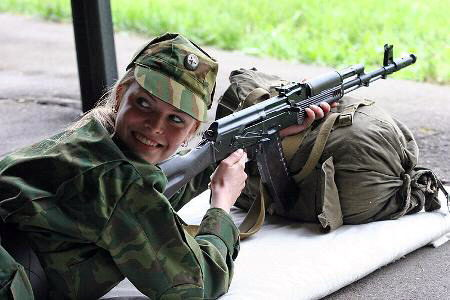 Hot Military Girls