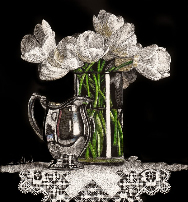 http://www.dailypaintworks.com/fineart/sandra-willard/silver-and-tulips/202460