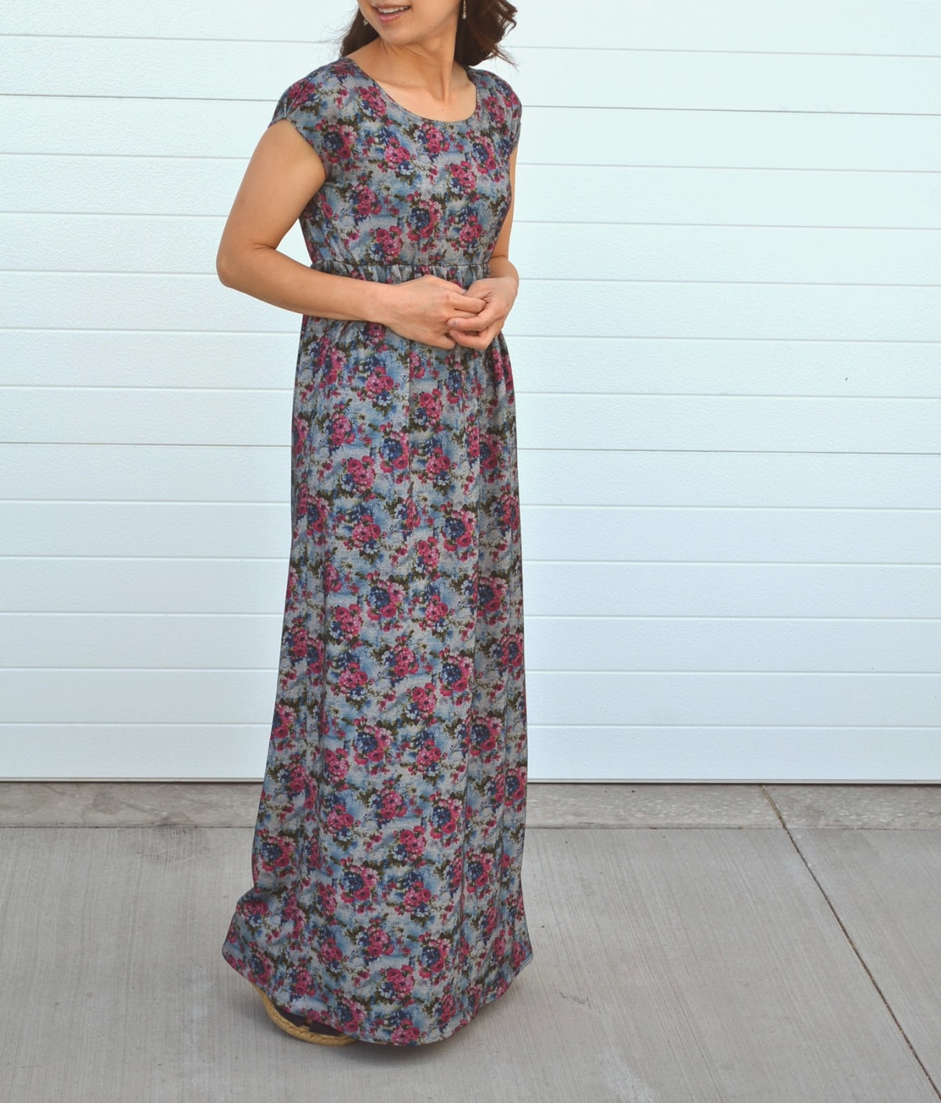 Tea Rose Home: Maxi Knit Dress Fun