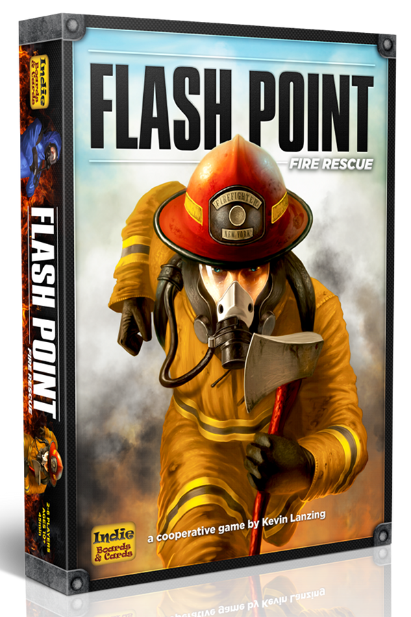Drake's Flames: Board Game Review - Flash Point