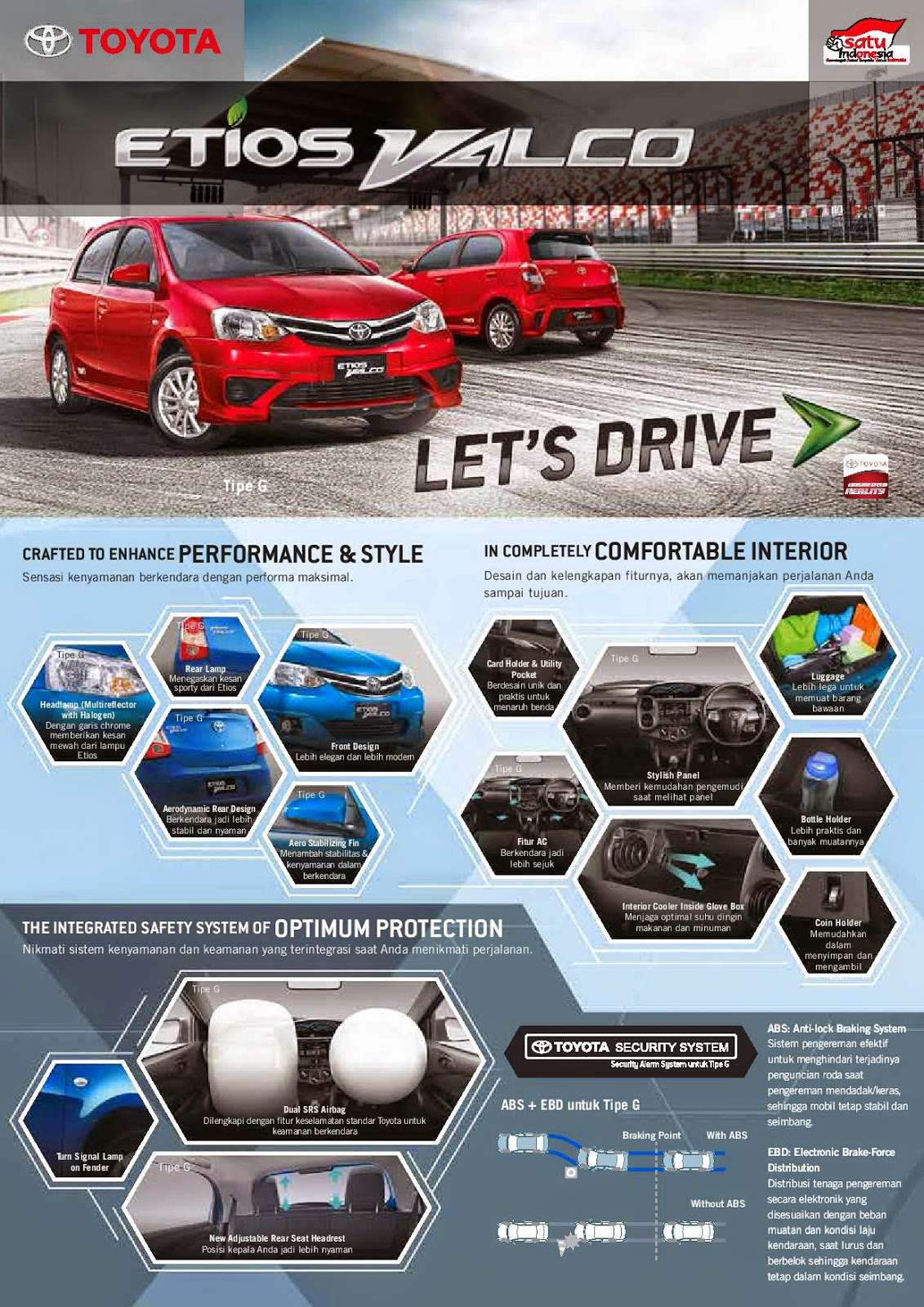 Brosur New Toyota Etios Valco TOM'S 2015