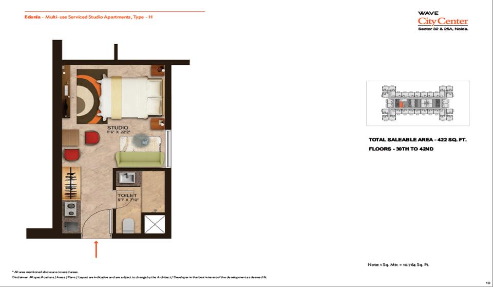 Wave Edenia Floor Plans 1
