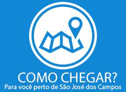 Mapa Sao Jose dos Campos - Localize a loja