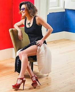 Joana Solnado LuxWoman Portugal Magazine Photoshoot Fevereiro 2014