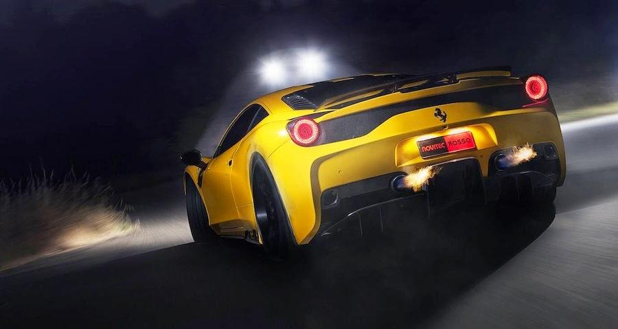 ノヴィテック・ロッソが発表した「フェラーリ458スペチアーレ」専用チューニングプログラム